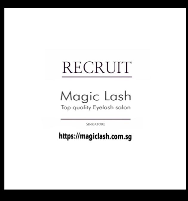 eyelash extension singapore recruit マツエク シンガポール 求人