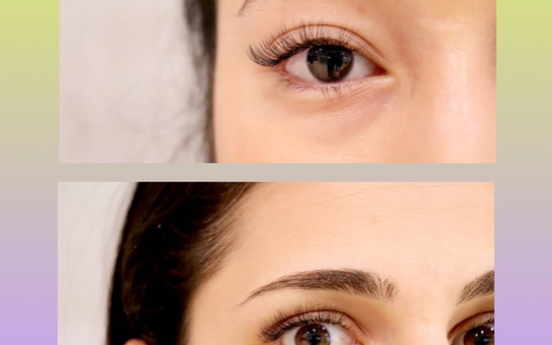 How to enlarge your eyes by 2x with eyelash extensions!